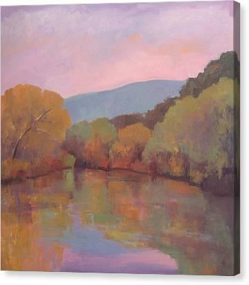Santa Ynez River Canvas Print