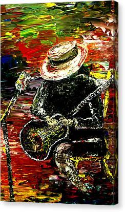 Santana Canvas Print by Mark Moore