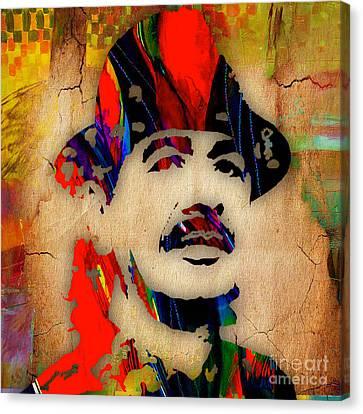 Colorful Canvas Print - Santana by Marvin Blaine