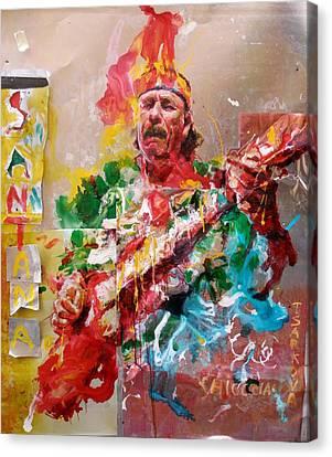 Santana Canvas Print - Santana by Massimo Chioccia and Olga Tsarkova