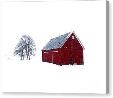 Santa's Barn Canvas Print by Tim Good