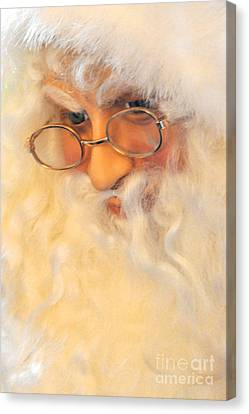 Santa's Beard Canvas Print
