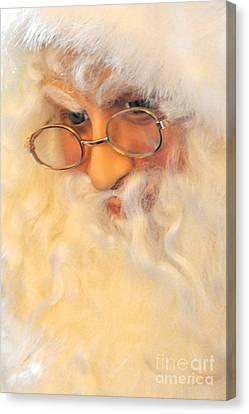 Santa's Beard Canvas Print by Vinnie Oakes