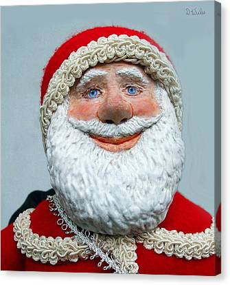 Santa's Big Day Canvas Print by David Wiles