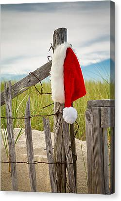 Santa's Downtime Canvas Print by Brian Caldwell