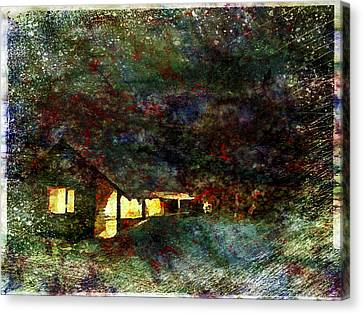Santa's House Canvas Print by Yury Malkov