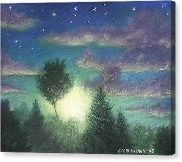 Santee Sunset 03 Canvas Print