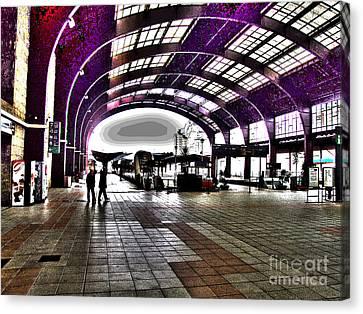 Santiago De Compostela Station Canvas Print