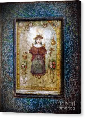 Santo Nino De Atocha Canvas Print by Savannah Gibbs