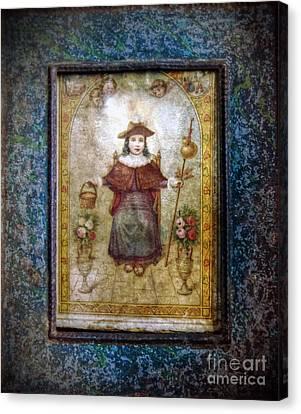 Santo Nino De Atocha Canvas Print
