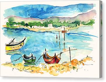 Sao Jacinto 04 Canvas Print by Miki De Goodaboom