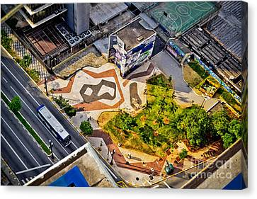 Sao Paulo Downtown - Geometry Of Public Spaces Canvas Print