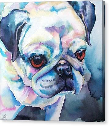 Sara Canvas Print by Christy  Freeman