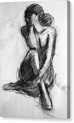 Sara Canvas Print by Colleen Gallo