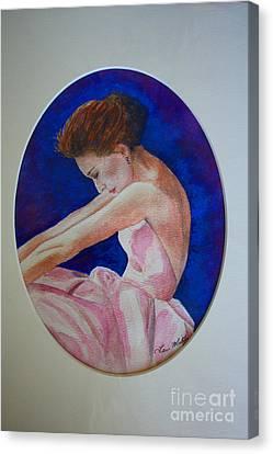 Sarah Jessica Parker Canvas Print by Terri Maddin-Miller