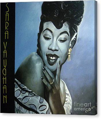 Sarah Vaughan Canvas Print