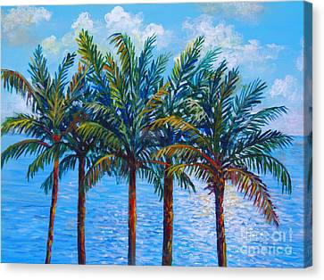 Sarasota Palms Canvas Print