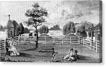 Saratoga, New York, 1794 Canvas Print by Granger