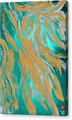 Sargasso Siren Canvas Print