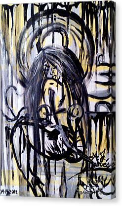 Acrylic On Solid Maplewood Canvas Print - Sarge-7 On Fotoblur by Adriana Garces