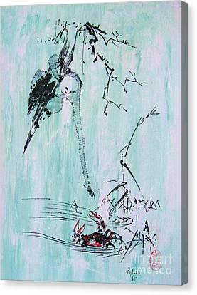 Saru Kani Kassen Canvas Print by Roberto Prusso