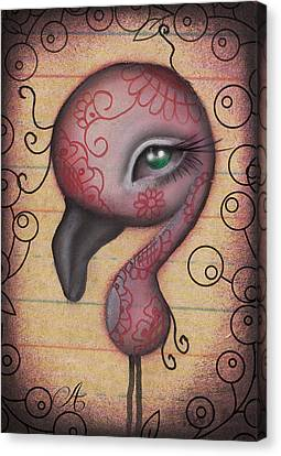 Sasha  Canvas Print by  Abril Andrade Griffith