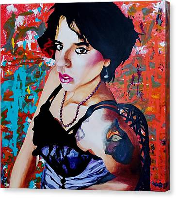 Sassy Girl Sonja Canvas Print