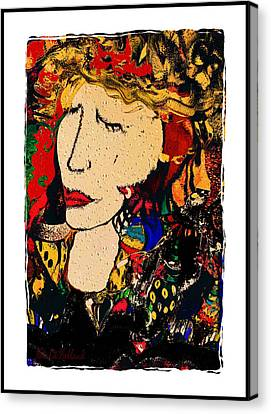Breaking Rules Canvas Print - Sassy by Natalie Holland