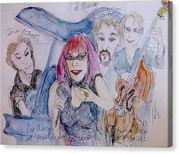 Sassy Pat Murray Canvas Print by Barb Greene mann