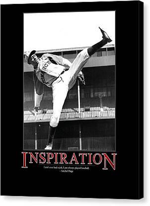 Satchel Paige Inspiration Canvas Print by Retro Images Archive