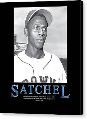 Satchel Paige Canvas Print by Retro Images Archive