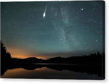 Satellite Flare Canvas Print by Tommy Eliassen
