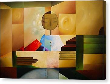 Satori Canvas Print by Laurend Doumba