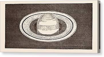 Saturn, November 27 Canvas Print by English School