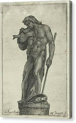 Saturnus. Willem Basse, Jan Saenredam Canvas Print by Jan Saenredam