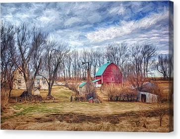 Saunders County Farm 1 Canvas Print