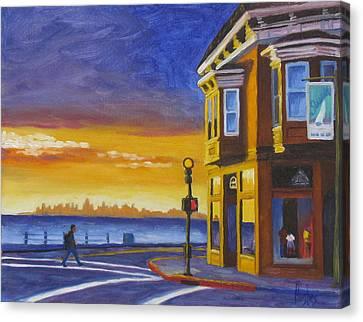 Sausalito Canvas Print by Kevin Hughes