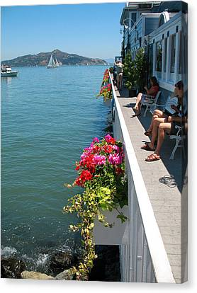 Sausalito Leisure Canvas Print