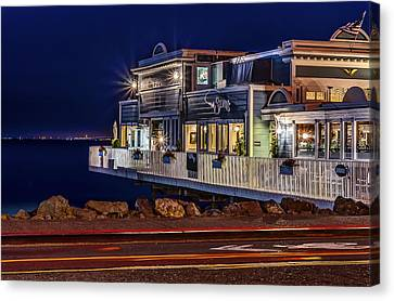 Sausalito Waterfront 1 Canvas Print by Phil Clark