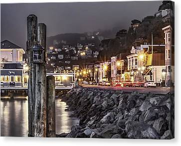 Sausalito Waterfront 2 Canvas Print