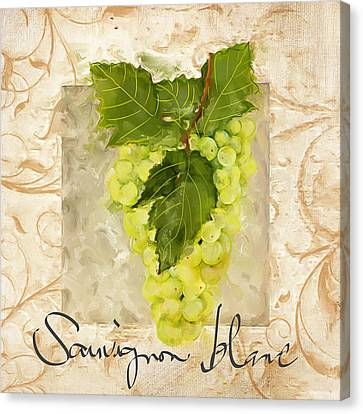 Sauvignon Blanc II Canvas Print by Lourry Legarde