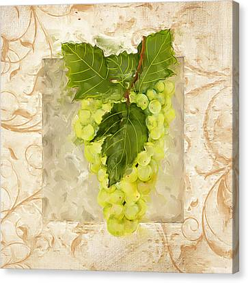 Sauvignon Blanc Canvas Print by Lourry Legarde