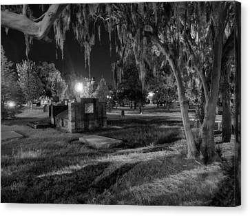 Savannah - Bonaventure Cemetery 003 Canvas Print by Lance Vaughn