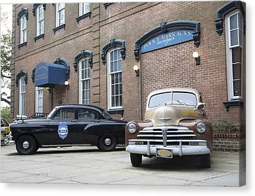 Savannah Chatham Metropolitan Police Department Canvas Print by Erin Cadigan