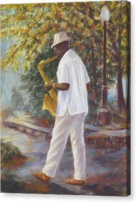 Savannah Jazz Canvas Print