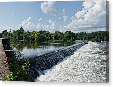 Savannah Rapids Canvas Print