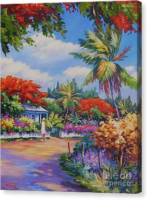 Savannah Walk      20x24 Canvas Print