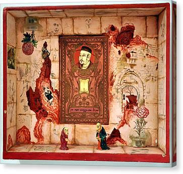 Save Milliard Chinese Jews Canvas Print by Nekoda  Singer