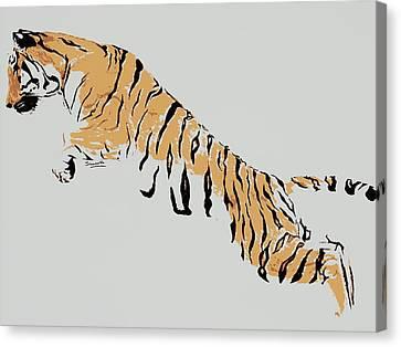 Save Tigers  Canvas Print