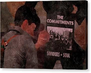 Saviours Of Soul Canvas Print